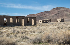 Historischer Nationalpark Fort Churchill, Nevada Stockfotografie