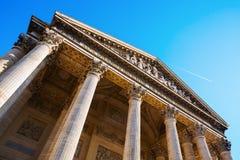 Historischer Pantheon in Paris, Frankreich Lizenzfreies Stockbild