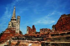 Historischer Park Ayuttaya, Thailand Stockbild