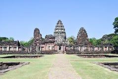 Historischer Park Phimai, Khmer-Schloss Lizenzfreie Stockfotografie