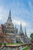 Historischer Park, Si Ayutthaya Phra Nakhon Lizenzfreies Stockbild