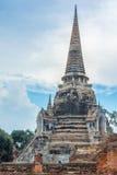 Historischer Park, Si Ayutthaya Phra Nakhon Stockbilder