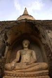 Historischer Park SriSatchanalai stockfoto