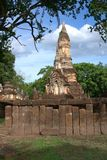 Historischer Park SriSatchanalai lizenzfreie stockbilder