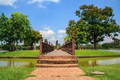 Historischer Park Sukhothai Stockfotografie