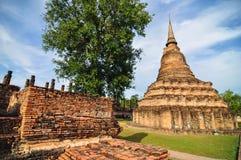 Historischer Park Sukhothai, die alte Stadt von Thailand in 800-jährigem Lizenzfreies Stockfoto
