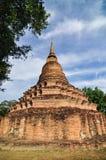 Historischer Park Sukhothai, die alte Stadt von Thailand in 800-jährigem Stockbild