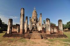 Historischer Park Sukhothai, die alte Stadt von Thailand in 800-jährigem Stockfotografie