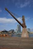 Historischer Pier in Antofagasta, Chile stockfotos