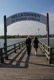 Ahlbeck, Usedom Insel stockfoto