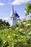 Historischer Platz für Interesse an Suzdal, Russland Lizenzfreies Stockfoto