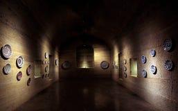 Historischer Raum Stockfoto