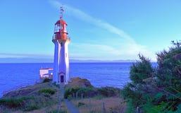 Historischer Sheringham-Punkt-Leuchtturm Lizenzfreie Stockfotos