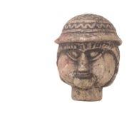 Historischer Statue-Kopf Lizenzfreies Stockfoto