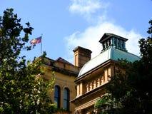 Historischer Sydney Eye Hospital Building, Sydney City, Australien lizenzfreie stockfotografie