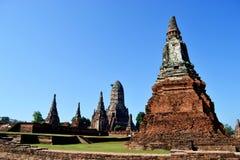 Historischer Tempel in Thailand lizenzfreie stockfotos