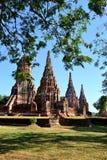 Historischer Tempel in Thailand stockbilder