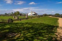 Historischer Texas Farm House Stockbilder