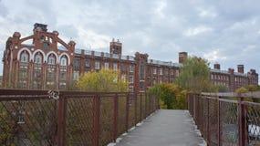 Historischer und Architekturkomplex von Gebäuden baute im Jahre 1856-1913 Jahre in Tver auf Stockbilder