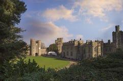 Historischer Warwick Castle, England, Großbritannien Stockbild