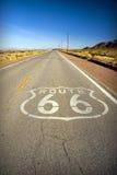 Historischer Weg 66 Stockbild