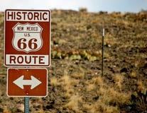 Historischer Weg Background-1 des Weg-66 Stockbild