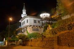 Historischer Wohnsitz der rumänischen Königin Stockfotografie