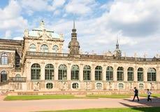 Historischer Zwinger-Palast in Dresden Lizenzfreie Stockfotos