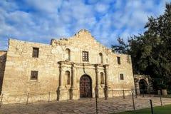 Historisches Alamo in der Dämmerung Lizenzfreie Stockbilder