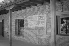 Historisches altes Mesilla-New Mexiko Stockfoto