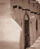 Historisches altes Mesilla-New Mexiko Stockbilder