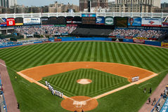 Historisches altes Yankee Stadium, Bronx, New York lizenzfreie stockfotos