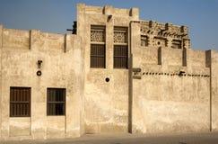 Historisches arabisches Fort Stockfoto