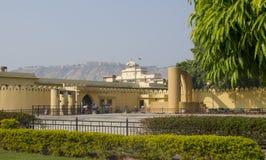 Historisches Architekturbauobservatorium Jantar Mantar India Lizenzfreies Stockfoto