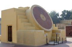 Historisches Architekturbauobservatorium Jantar Mantar India Lizenzfreie Stockfotos