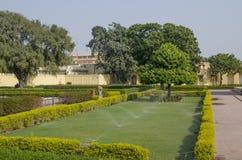 Historisches Architekturbauobservatorium Jantar Mantar India Stockfoto