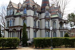 Historisches Batcheller-Villengasthaus, Saratoga, Ny, 2014 Lizenzfreie Stockbilder
