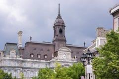 Historisches Buiding in Montreal stockfotos