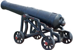 Historisches Canon in Barbados stockbilder