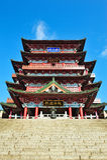 Historisches chinesisches Gebäude - Tengwang-Pavillon Stockfotografie
