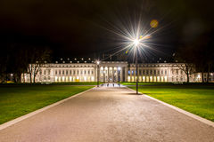 Historisches deutsches Schloss Koblenz-Stadt-Deutschlands lizenzfreie stockbilder