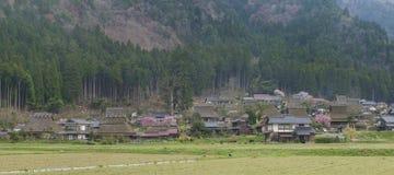 Historisches Dorf Miyama in Kyoto, Japan Stockbild