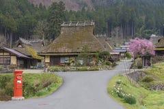 Historisches Dorf Miyama in Kyoto, Japan Lizenzfreies Stockfoto