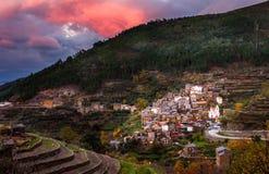 Historisches Dorf von Piodao Lizenzfreies Stockbild