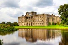 Historisches englisches prächtiges Haus Stockbilder