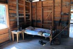 Historisches Florida-Cracker 1890s Schlafzimmer Lizenzfreie Stockfotografie