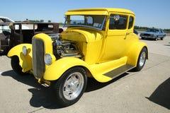 Historisches Ford 1928 auf Anzeige Lizenzfreies Stockfoto