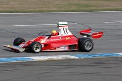 Historisches Formel 1auto, Ferrari 312t Lizenzfreie Stockfotos