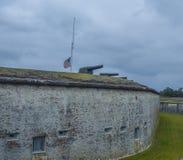 Historisches Fort Stockbild
