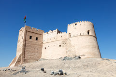 Historisches Fort in Fujairah Lizenzfreies Stockbild